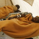 Cholera victims lie in a hospital ward in Harare, Zimbabwe, last week. (CNN).